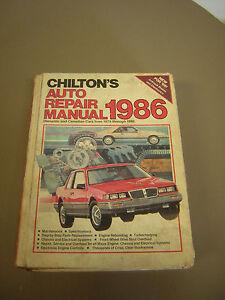 diy auto repair manual