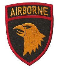 Ecusson patche Airborne US army patch brodé embleme thermocollant