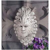 Carnevale Feather Mask Wall Sculpture Venice Italy Garden Home Decor