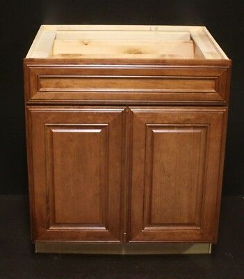 Kraftmaid Sunset Cherry Kitchen Base Cabinet 30 ...