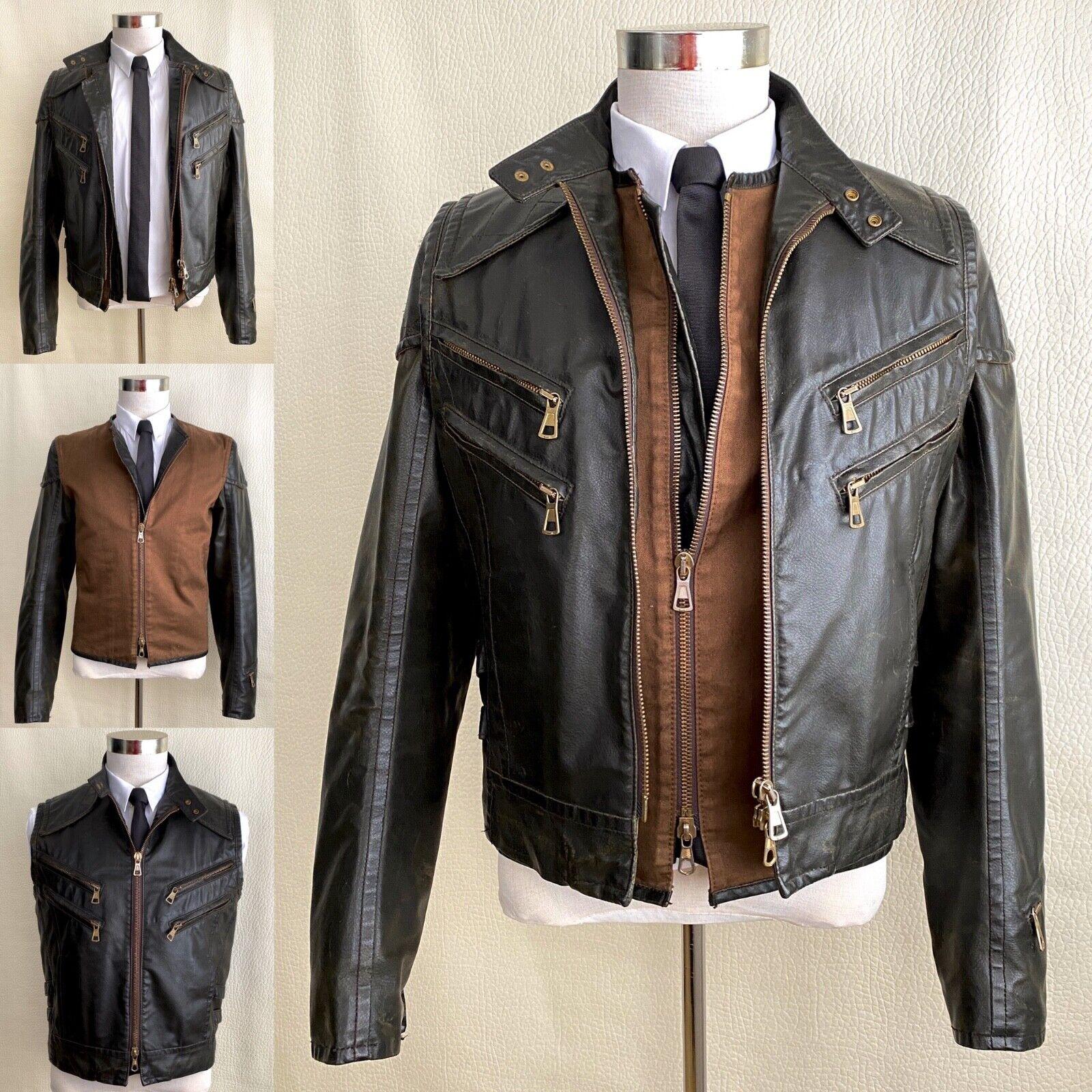 Very RARE Dsquared2 Runway Biker Jacket-Vest 3 in 1, Sz. IT48 -...