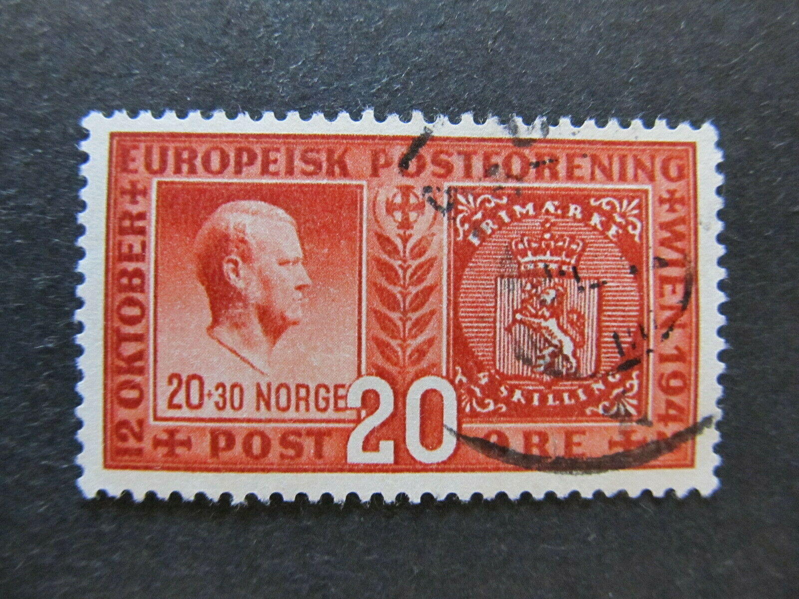 A5P29F115 Norway 1942 20o used
