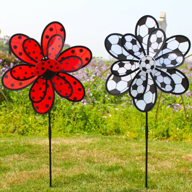 Pinwheel Windmill Wind Spinners Toy for Lawn & Garden Flower Ornament Dec *T