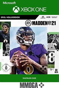 Xbox One madden nfl 21 key-Xbox One juego código de descarga-de/global