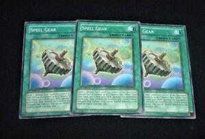 Mixed Yu-Gi-Oh 3x Spell Gear LODT-EN049
