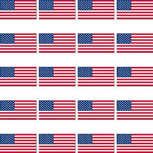 Sticker aufkleber Nationalitätenkennzeichen flagge fahne USA amerika