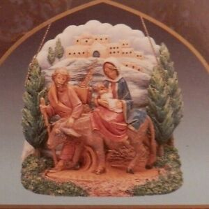 FONTANINI - 2001 EXCLUSIVE ORNAMENT - LIMITED NATIVITY ITALY NEW IN BOX !!!