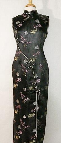 Classic Traditional Asian Chinese Cheongsam Qipao Brocade Silk Dress
