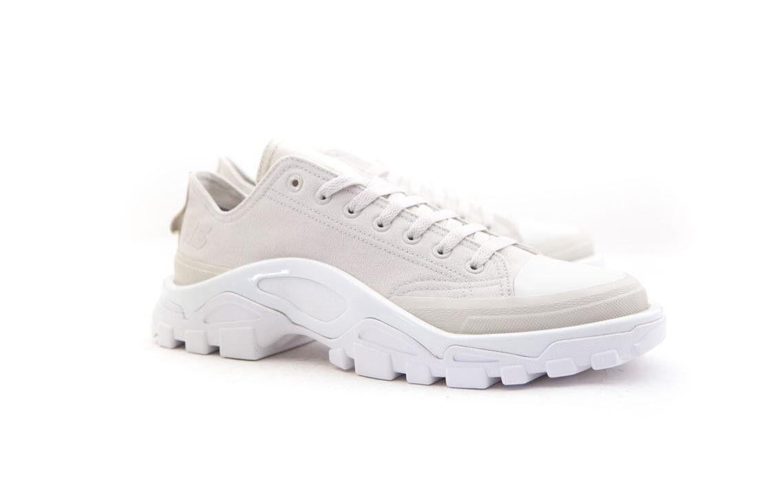 B22527 Adidas x Raf Simons Men Detroit Runner white talc footwear white