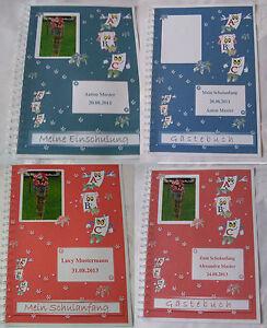 Details Zu Geschenk Schulanfang Einschulung 1 Schultag Gästebuch Festzzeitung Mit Bild