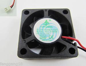 10x Brushless DC Cooling Fan 7 Blades DC 5V 0.12A 30mm x 30mm x 10mm 3010 31S05M