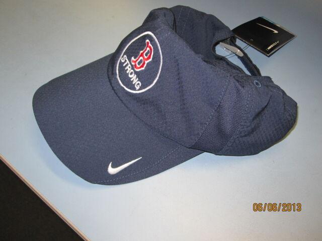 Nike Dri Fit Sphere Boston Strong Navy Golf Running Tennis Cycling ... acb2a53d338