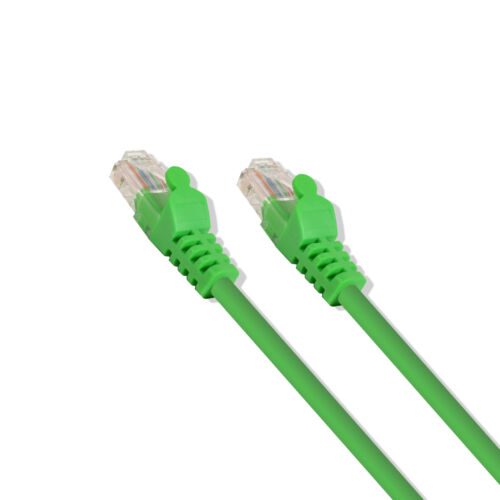 1ft Cat6 Cable Ethernet Lan Network RJ45 Patch Cord Internet Green 50 Pack