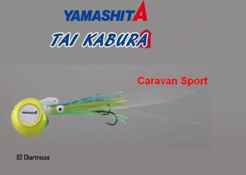 ARTIFICIALE TAIKABURA SET COLORE 02 CHART 100 GR JIG KABURA VERTICAL YAMASHITA