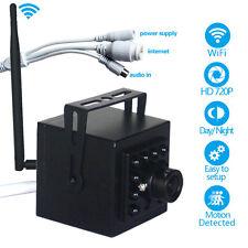 Mini IR WIFI 720P IP Security Camera Wireless P2P Remote Network Onvif Spy Cam