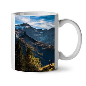 Adventure Mountain Nature NEW White Tea Coffee Mug 11 oz | Wellcoda