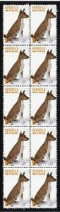 BASENJI-YEAR-OF-THE-DOG-STRIP-OF-10-MINT-VIGNETTE-STAMPS-1