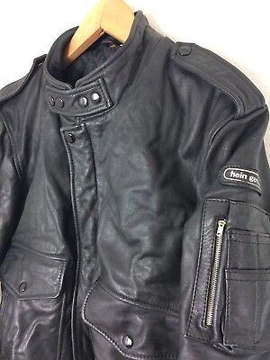 80'S LEDERJACKE BIKER Flight Leather Jacke HEIN GERICKE