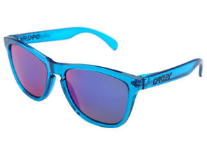 Oakley-Frogskins-Polarized-Sunglasses-24-356-Acid-Blue-Red-Iridium