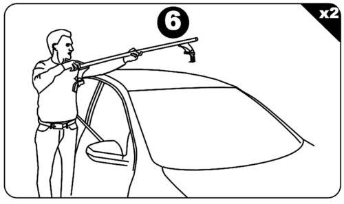 Baca Aurilis Original para Nissan Qashqai II sin Barandilla 5 Puertas desde 14