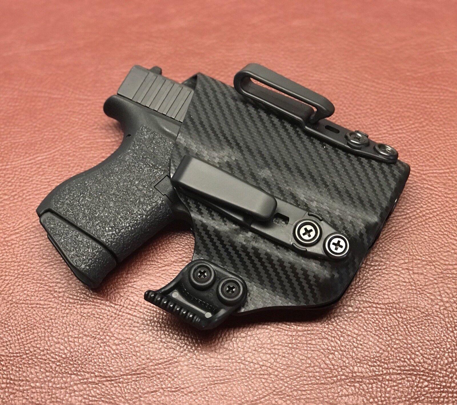 Loco OJOS Fundas Glock G42 Tlr-6 IWB, aiwb KYDEX Funda