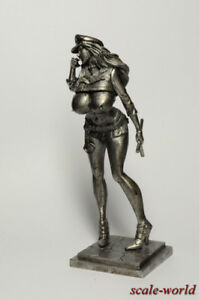 Tin-soldier-figure-Lady-COP-90-mm