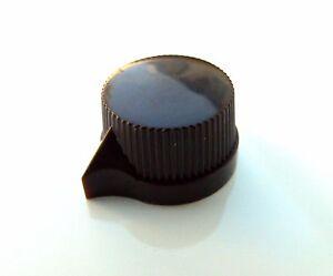 small brown pointer knob for valve radio amplifier guitar pedal 1 4 pots ebay. Black Bedroom Furniture Sets. Home Design Ideas
