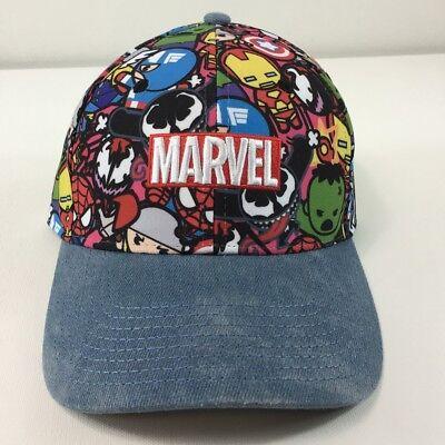 Marvel Avengers Cap Boys Snapback Baseball Hat Ages 1 to 14 Years