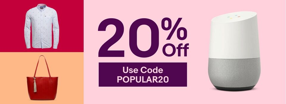 Use Code POPULAR20 - Get Prepped to Party for 20% Less