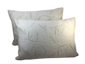 2-Pack-Miracle-Bamboo-Pillows-Memory-Foam-Pillow-Shredded-Memory-Foam-Pillow