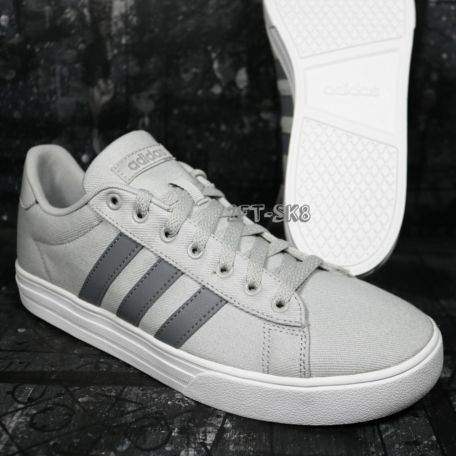 detailed look 4f1d8 f49b3 Adidas daily 2.0 grigio grigio e bianco uomini 9 scarpe s8922.112   Non così