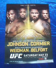 UFC 210 Daniel Cormier vs Anthony Johnson 2 PHOTO Print POSTER MMA 2017 New York