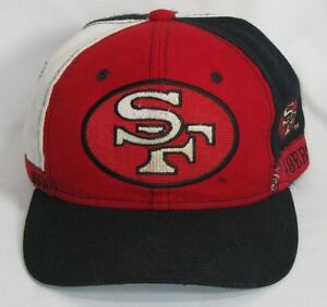 Vintage 90 s San Francisco 49ers NFL Pro Player Adjustable Snapback ... cac609e58