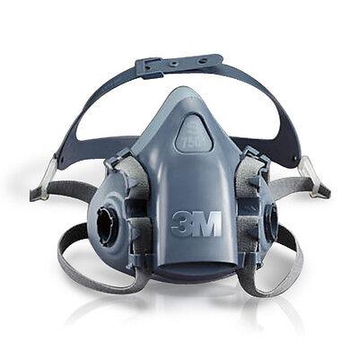 3M Atemschutz Halbmaske 7502 Gas Maske Silikon Größe M
