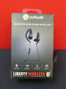 Yurbuds Liberty Wireless Bluetooth Headphones /W Microphone & 3 Button Control
