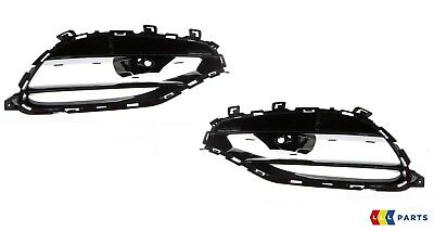 NEW GENUINE MERCEDES BENZ MB CL W215 FRONT BUMPER FOG LIGHT GRILL PAIR SET
