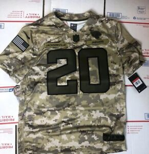 online store 87e6f 1fdb8 Details about Nike Jaguars Digital Camo Salute to Service Jalen Ramsey  Jersey Large Jags $170