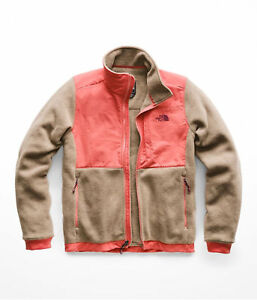 The-North-Face-Denali-2-Jacket-Women-Falcon-Brown-Heathered-Faded-Rose-NF0A3SX2