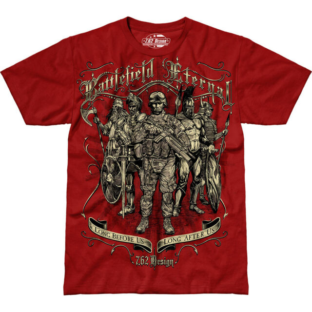 b464cb796 ... Graphic Military Tee Shirt Scarlet L. About this product. Battlefield  Eternal 7.62 Design Premium Men's T-Shirt Scarlet