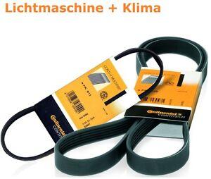 2-X-Contitech-Keilrippenriemen-BMW-5-E60-E61-520-525-530-i-7er-730-i-Li