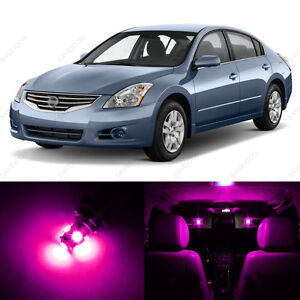 10 X Pink Purple Led Interior Light Package For 2007 2012 Nissan Altima Ebay