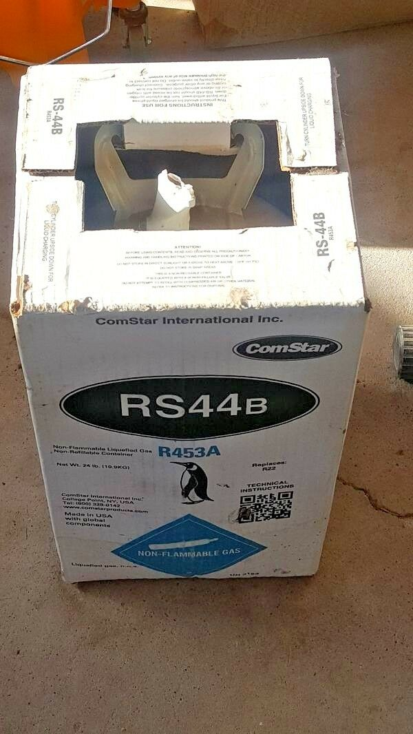 R22 Replacement, RS44b, R453a Refrigerant, Newest R22 Drop-in Replace, Kit B