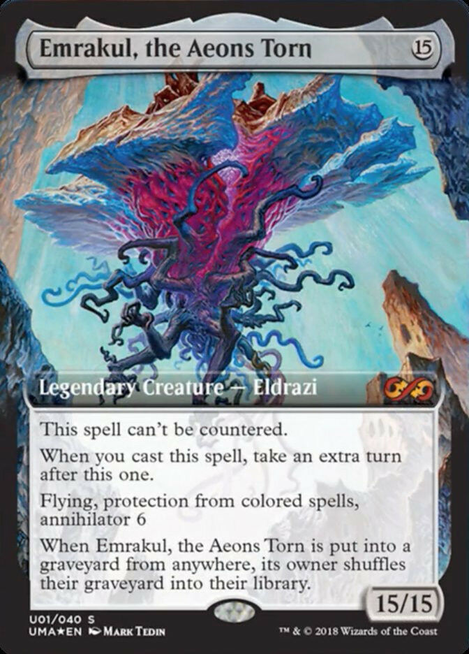 EMRAKUL, THE AEONS TORN - Foil BoxTopper - nm   new - MTG -  Ultimate Masters