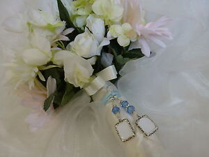 Bridal Bouquet Photo Memory Charm Double Frame Memorial Charm