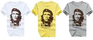 Che Guevara T-Shirt 3d print character shirt short sleeve Tops Tee Cotton O Neck