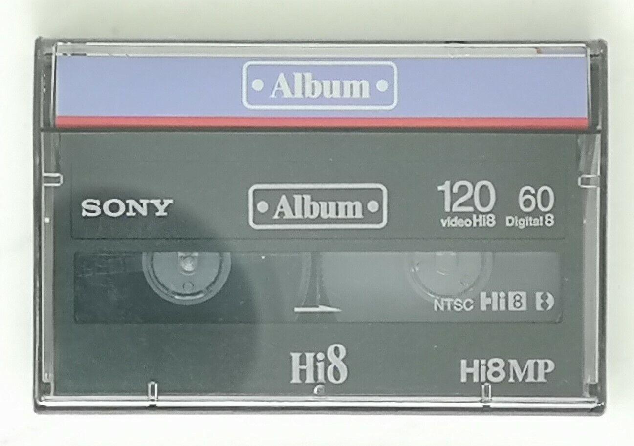 SONY ALBUM VIDEO HI8 120 DIGITAL8 60 SEALED MADE IN JAPAN