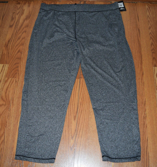 Pony Active 3 Pocket Stretch Pant  Black Solid  Men/'s Sz S-XXL NWT MSRP$40