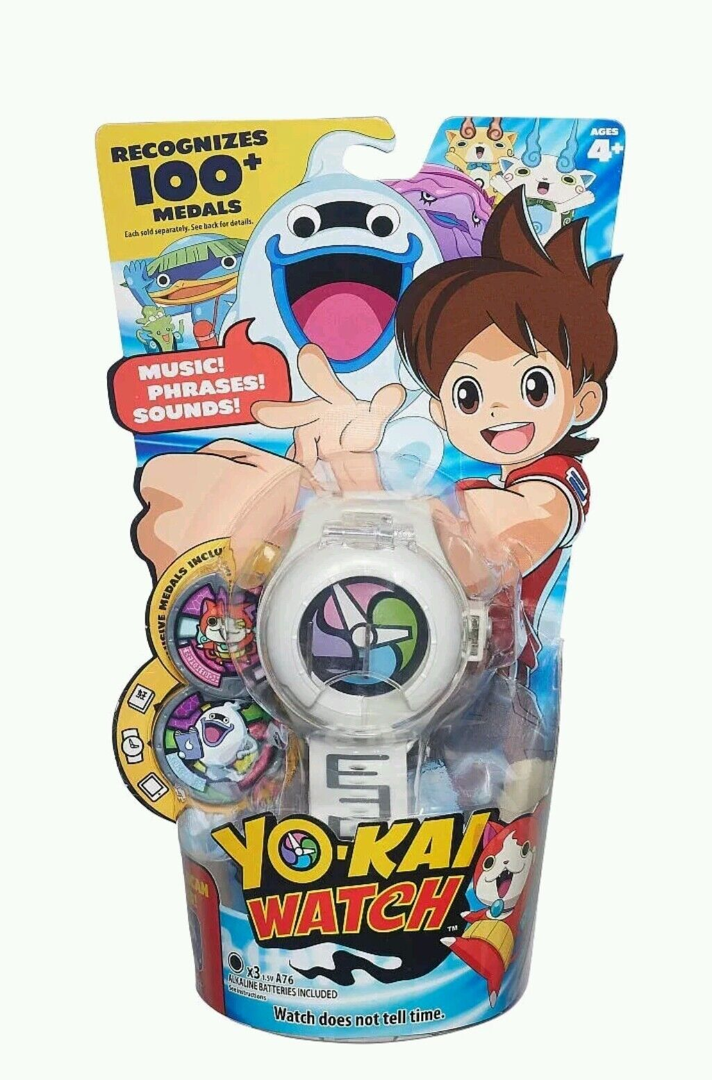 Yo-Kai Watch - White with 2 Medals - Series 1