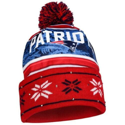 New England Patriots Forever Collectibles NFL UGLY Light Up Beanie