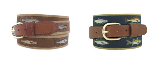 Zep-Pro Mens Leather Canvas Backcountry Back Country Slam Redfish Tarpon Snook